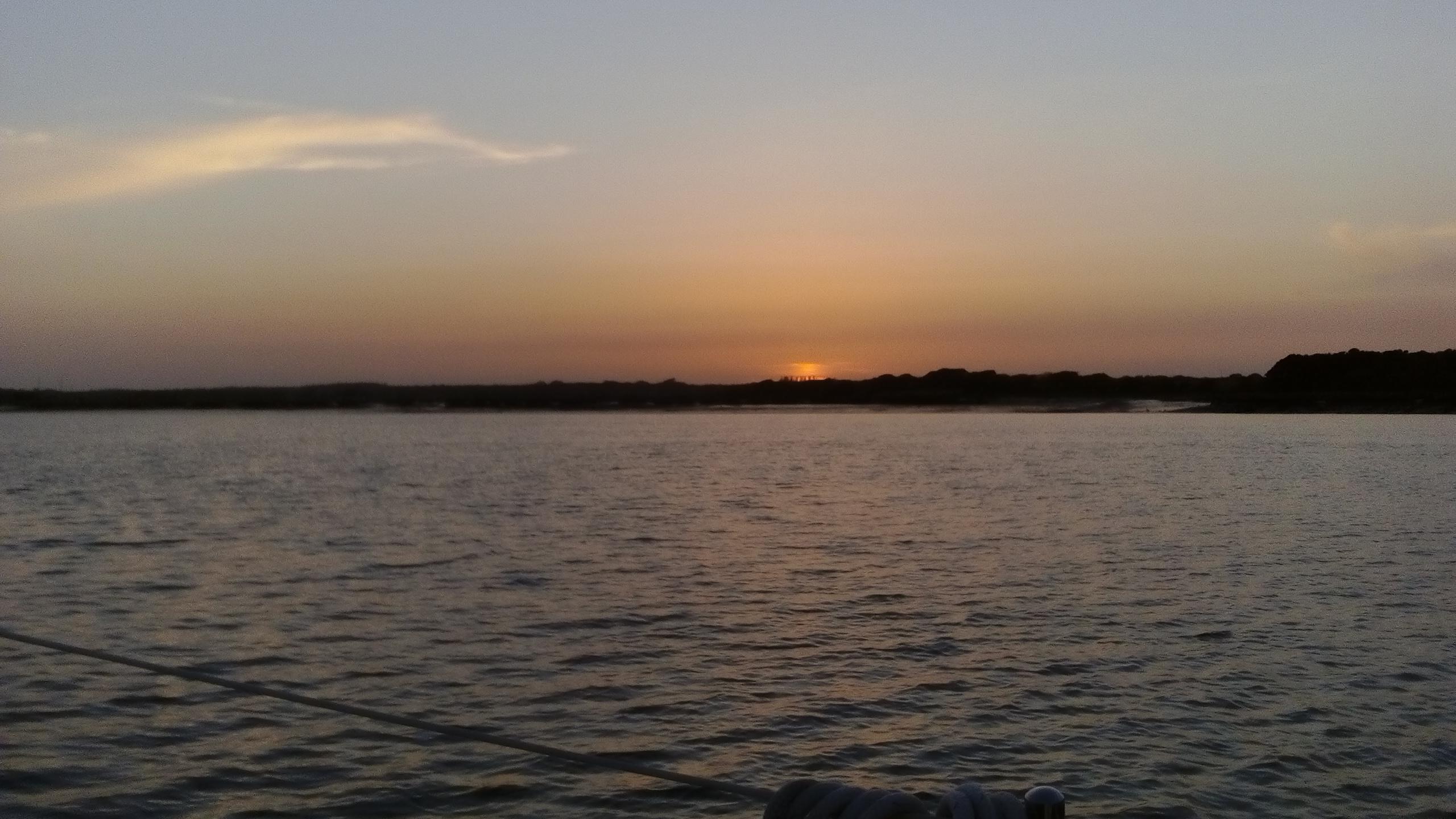 Beaulieu Sunset - May 18